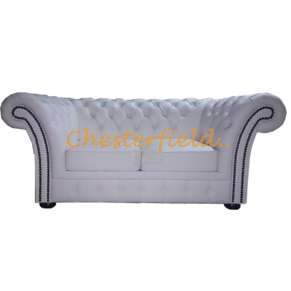 Chesterfield XL Windchester 2-es kanapé Fehér