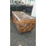 Chesterfield Dohányzóasztal Antik Óarany S12