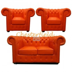 Chesterfield Classic 211 garnitúra Orange K6