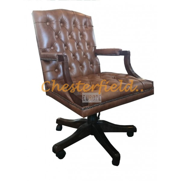 Chesterfield King forgószék, office chair