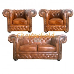 Chesterfield Lord 211 garnitúra Antik óarany S12