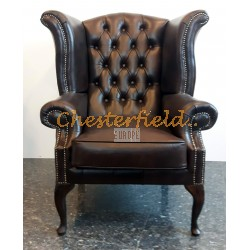 Chesterfield Queen fülesfotel Antikbarna A5