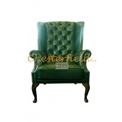 Chesterfield St. James fülesfotel Antikzöld A8