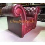 Chesterfield Windchester fotel Antikbordó A7