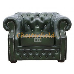 Chesterfield XL Windsor fotel Antikzöld A8