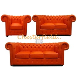 Chesterfield Classic 321 garnitúra Orange K6
