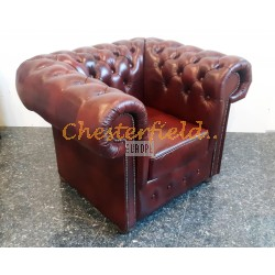 Chesterfield Classic fotel Antikbordó A7