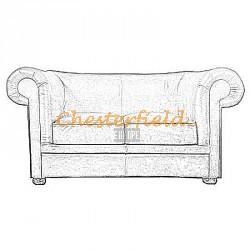 Chesterfield London 2-es kanapé
