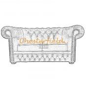 Chesterfield Lord 2-es kanapé (8)