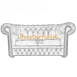 Chesterfield Lord 2-es kanapé