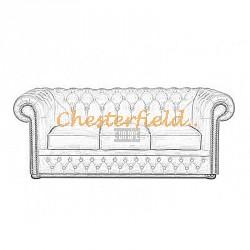 Chesterfield Lord 3-as kanapé