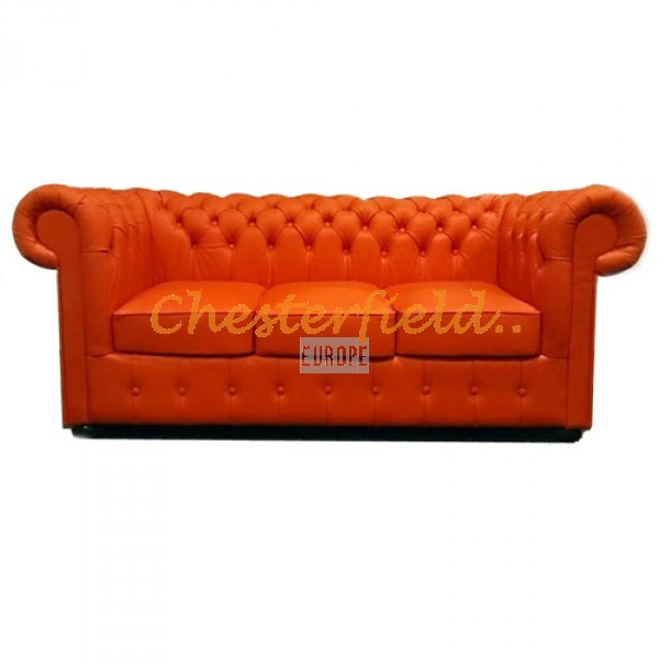 Chesterfield Classic 3-as kanapé Orange K6