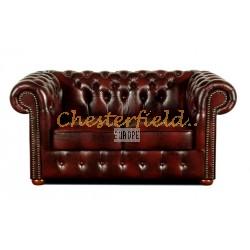 Chesterfield Classic 2-es kanapé Antikbordó A7