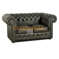 Chesterfield Classic 2-es kanapé Fekete K70
