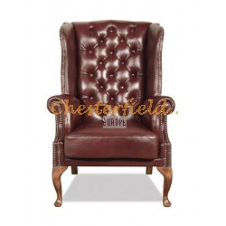 Chesterfield St. James fülesfotel Antikbordó A7