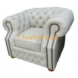 Chesterfield Windsor fotel Törtfehér K2