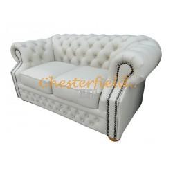 Chesterfield Windsor 2-es kanapé Törtfehér K2