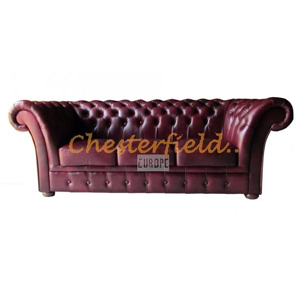 Chesterfield Windchester 3-as kanapé Antikbordó A7