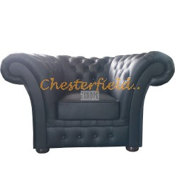 Chesterfield Windchester fotel Fekete K70