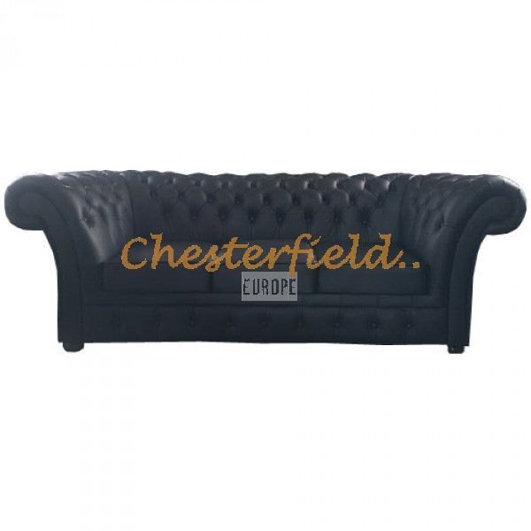 Chesterfield Windchester 3-as kanapé Fekete K70