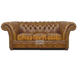 Chesterfield Windchester 3-as kanapé Antik óarany S12