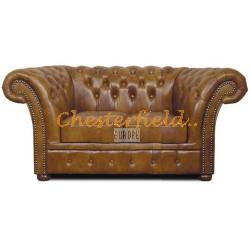 Chesterfield Windchester 2-es kanapé Antik óarany S12