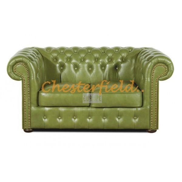 Chesterfield XL Classic 2-es kanapé Olivazöld