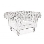 Chesterfield XL Diva fotel (4)