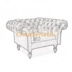 Chesterfield XL Diva fotel