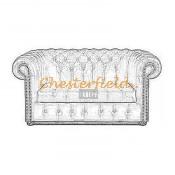 Chesterfield Williams 2-es kanapé (10)