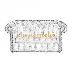 Chesterfield Williams 2-es kanapé