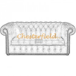 Chesterfield Williams 3-as kanapé