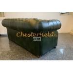 Chesterfield Windsor 3-as kanapé Antikzöld A8